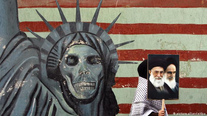 Antiamerikanismus im Iran (picture-alliance/dpa)