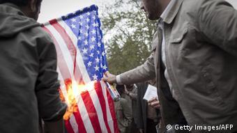 تا چه میزان آمریکاستیزی در ایران رواج دارد؟ (عکس از آرشیو)