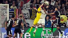 Bernd Leno plucks a cross from the air