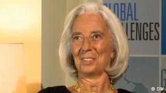 IWF-Direktorin Christine Lagarde