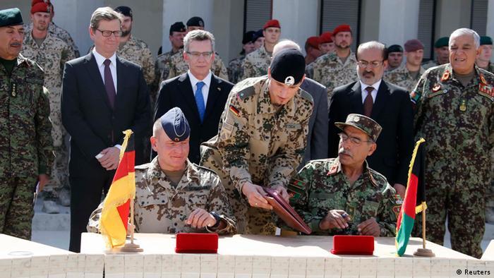 Forças Armadas alemãs entregam base no norte do Afeganistão