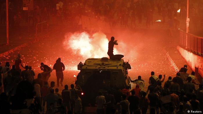 Ägypten Kairo Demonstranten 06.10.2013