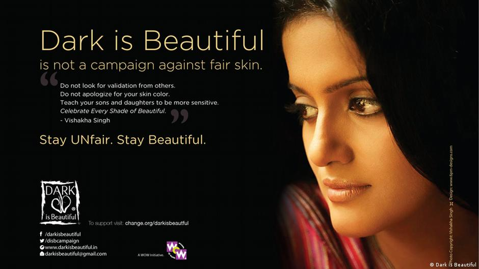 Dark Skin Campaign Seeks To Stop Prejudice