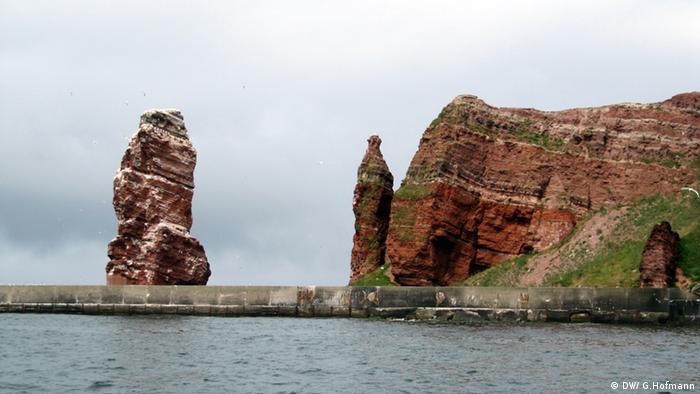 Ana la LArga, en Helgoland