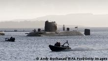 U-Boot Großbritannien Marinebasis Clyde