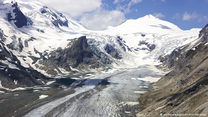 Österreich Gletscher Pasterze am Großglockner