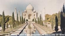 ***ACHTUNG: Bild nur zur Berichterstattung über die Ausstellung 1914 Welt in Farbe im LVR-LandesMuseum Bonn verwenden!!!*** Taj Mahal, Indien © Musée Albert-Kahn, Département des Hauts-de-Seine