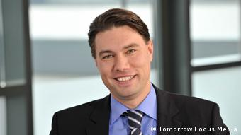 Oliver Eckert, Geschäftsführer der Tomorrow Focus Media GmbH (Tochter der Tomorrow Focus AG) und Herausgeber der deutschen Huffington Post. Copyright ist Tomorrow Focus Media. ***Nur zur Berichterstattung über die Tomorrow Focus Media GmbH und die deutsche Ausgabe der Huffington Post***