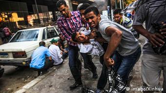 Geben sich noch nicht geschlagen: die Anhänger der Muslimbrüder (Foto: XINHUA )