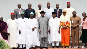 Nigeria Goodluck Ebele Jonathan Komitee zur Vorbereitung der Nationalen Konferenz