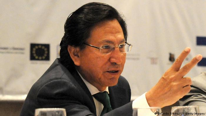 Ex-presidente do Peru Alejandro Toledo