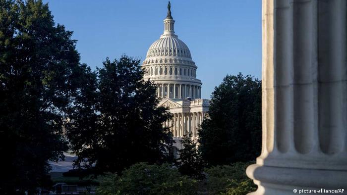 Das Kapitol in Washington (Foto AP).
