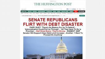 Screenshot Huffington Post 08.10.2013