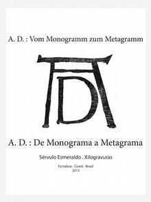 Brasilien Buchcover Monogramm von Albrecht Dürer