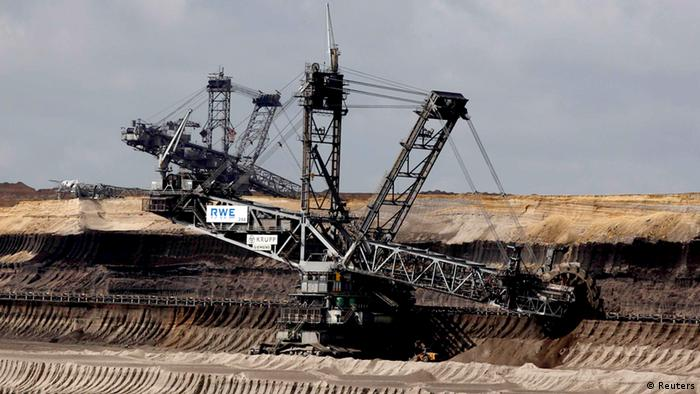 Garzweiler lignite mine in Germany