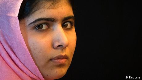 Pakistan Bloggerin Malala Yousafzai aus dem Swat-Tal