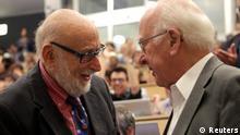 Nobelpreis Physik 2013 Peter Higgs Francois Englert