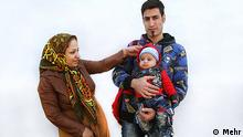 Familie Iran Mutter Vater Kind Baby