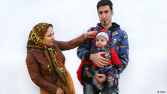 Familie Iran Mutter Vater Kind Baby (Mehr)