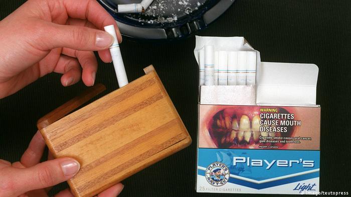 EU-Parlament Abstimmung Tabakrichtlinien Schockbilder
