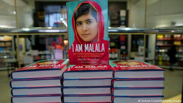 Buchcover I am Malala (Andrew Cowie/AFP/Getty Images)