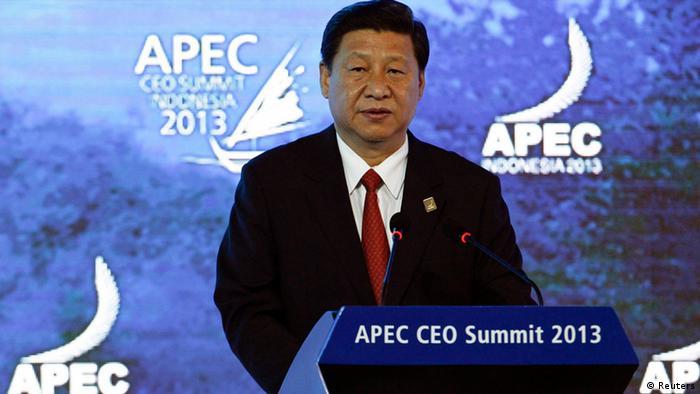 APEC Bali Chinas Präsident Xi Jinping