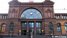 Auf dem Bild: Der Bonner Hauptbahnhof. Bonn , 6 october 2013 Foto: Lobna Tarek / Dw
