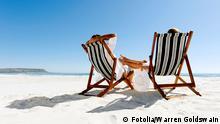 Pärchen Strand Glück