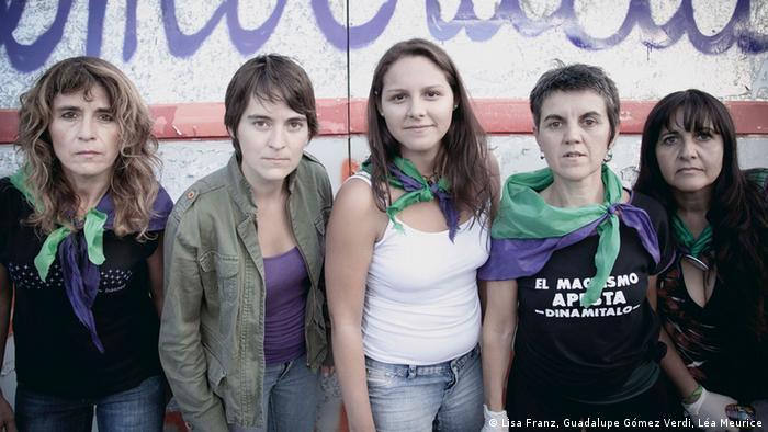 Feminist group La Revuelta (Copyright: Lisa Franz, Guadalupe Gómez Verdi, Léa Meurice)