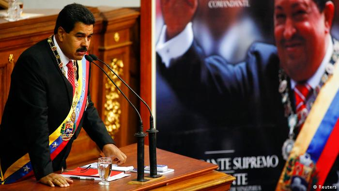 Venezuelan President Nicolas Maduro speaks at the National Assembly(Photo: REUTERS/Jorge Silva)