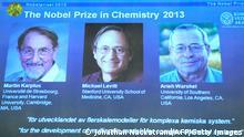 Nobelpreis für Chemie 2013