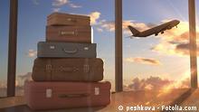 #53762963 - airplane in sky © peshkova