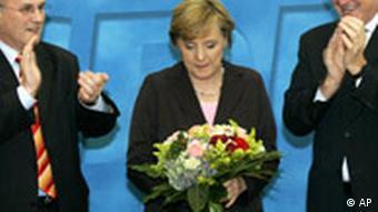 Bildgalerie Nach den Wahlen CDU Merkel
