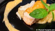Gericht des Chilenischen Koch Giuliano Capelli