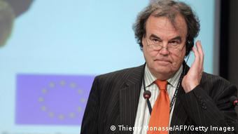 Karl-Heinz Florenz at a press conference in Brussels (Photo: THIERRY MONASSE/AFP/Getty Images)