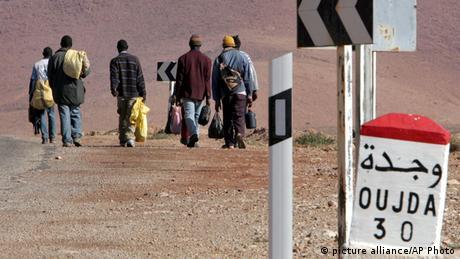 Marokko Migration Afrika Mittelmeer (picture alliance/AP Photo)