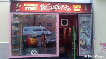 The Wowsville record store and pub, Photo: Jefferson Chase / DW