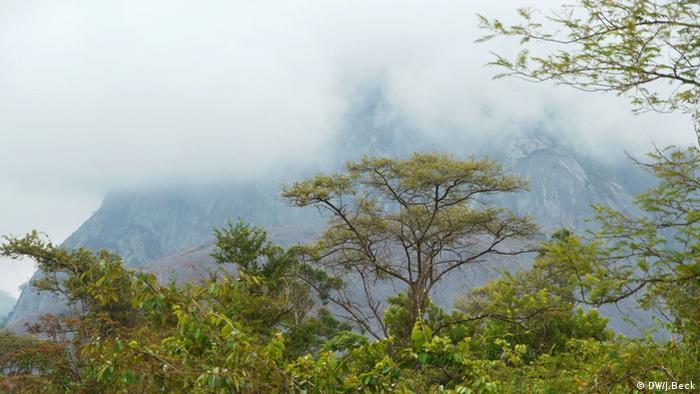 Berglandschaft Manica Mosambik