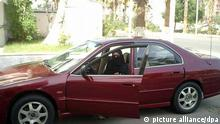 Saudi-Arabien Frau im Auto