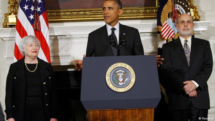 Yellen, Obama i Bernnanke