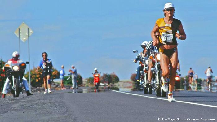Mark Allen beim Hawaii Ironman 1994 (Foto: Guy Mayer/Flickr Creative Commons)