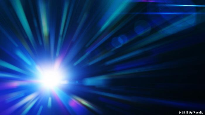 Symbolbild Blauer Background