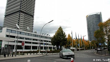 ساختمان مرکزی دویچه وله در شهر بن آلمان.