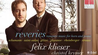 CD Cover Reveries Felix Klieser and Christof Keymer