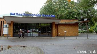 The Beethoven Hall in Bonn Photographer: DW/Lobna Tarek