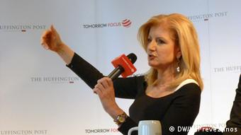 Arianna Huffington Gründerin der Online-Plattform The Huffington Post