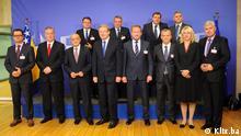 Politiker aus Bosnien und Herzegowina Treffen mit Stafan Füle in Brüssel