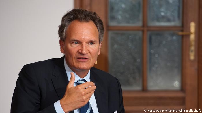 Robert-Jan Smits Director General of the EU's DG (department) for Research and Innovation (Photo: Horst Wagner/ Max-Planck Gesellschaft)