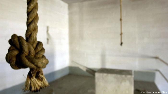 Hinrichtungsraum Gefängnis Abu Ghraid Irak (picture alliance/dpa)