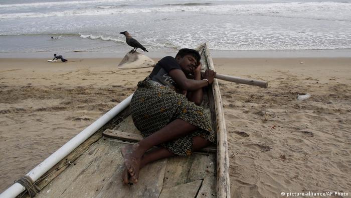 Indien vor Zyklon Phailin